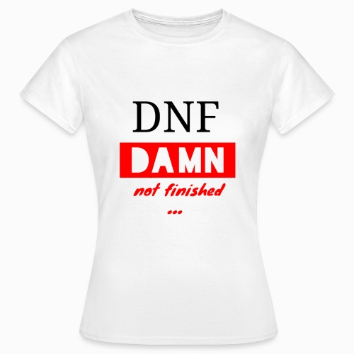 CA_Fashion official Cubing Edition DNF DAMN ... - Women's T-Shirt