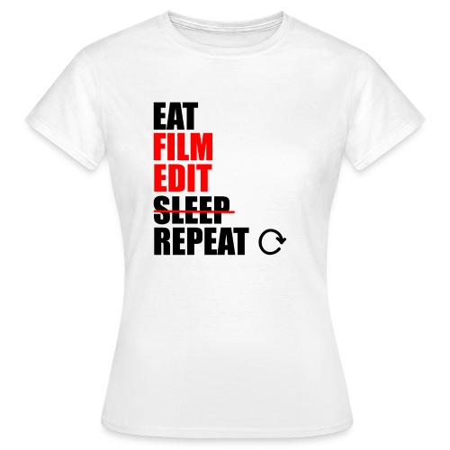 Life of a filmmaker - Frauen T-Shirt