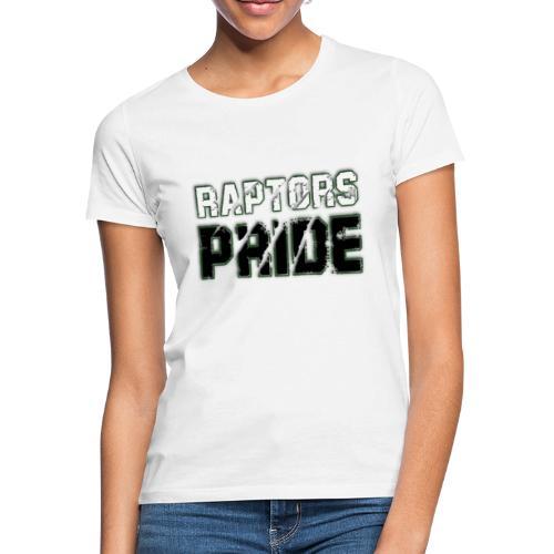 Raptors Pride - weiß/schwarz - Frauen T-Shirt