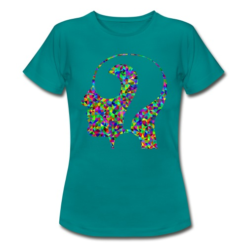 Fragender Kopf - Frauen T-Shirt