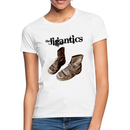 The Jigantics boot logo - black - Women's T-Shirt