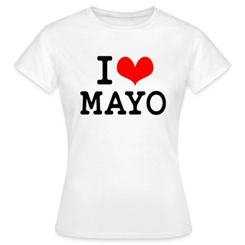 I Love Mayo - Women's T-Shirt