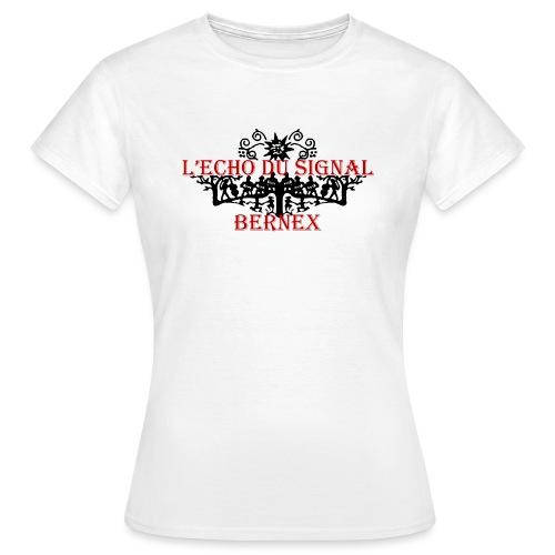 Logo Echo 2016 transp - T-shirt Femme