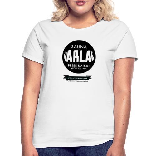 Sauna Arla - Valkoinen - Naisten t-paita