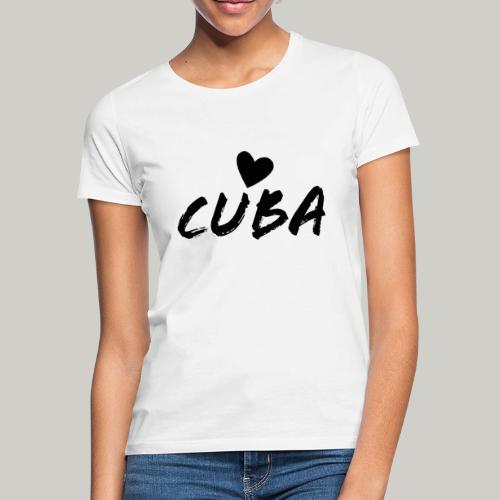 Cuba Herz - Frauen T-Shirt