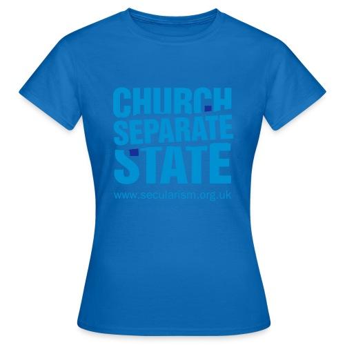 nssshirtchurchstate - Women's T-Shirt