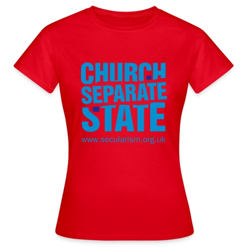 nssshirtchurchstate - Women's T-Shirt