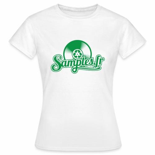 Samples.fr Vert - T-shirt Femme