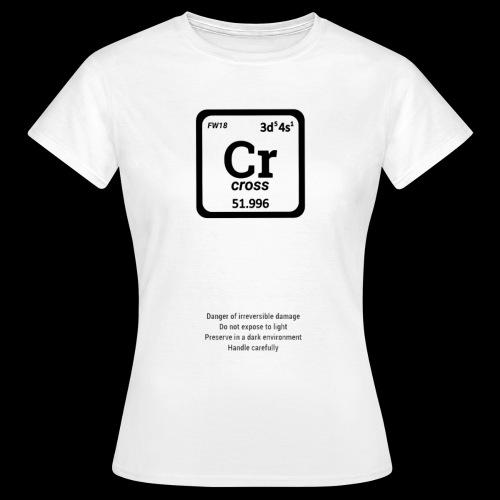 Cross clothing chemical - Maglietta da donna