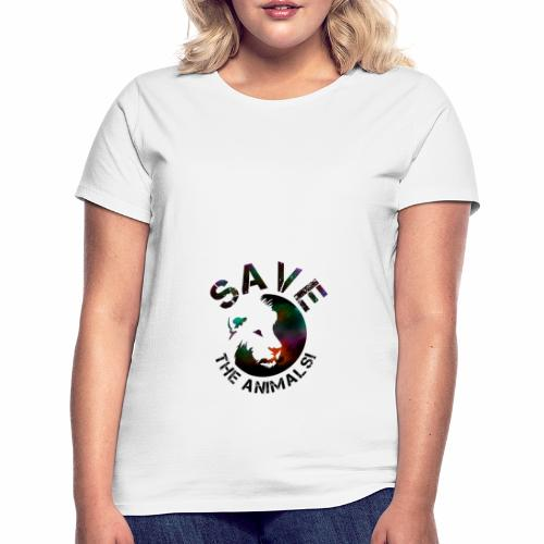 SAVE THE ANIMALS! KOLLEKTION BY Mikka_ufficiale - Frauen T-Shirt