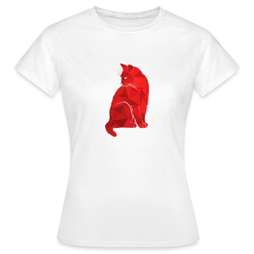 Katze Illustration neu - Frauen T-Shirt
