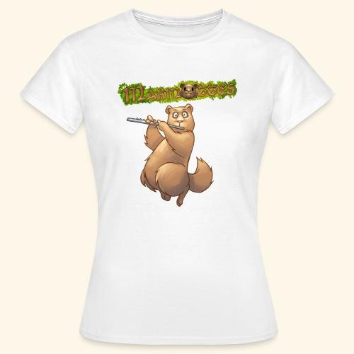 Tshirt Flute devant 2 - T-shirt Femme