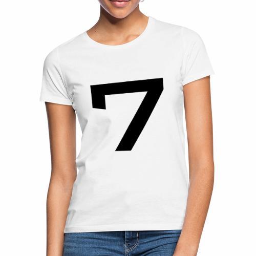 Numéro 7 - T-shirt Femme