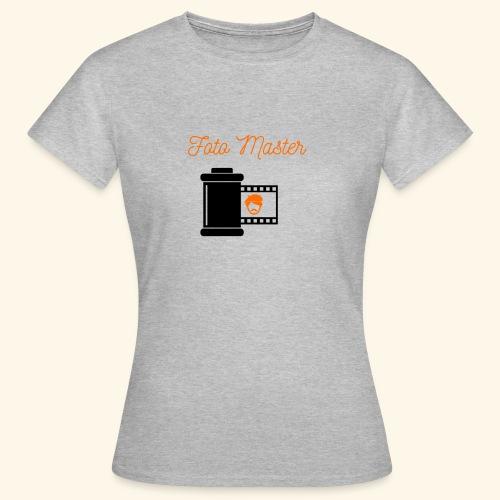 Foto Master - Dame-T-shirt