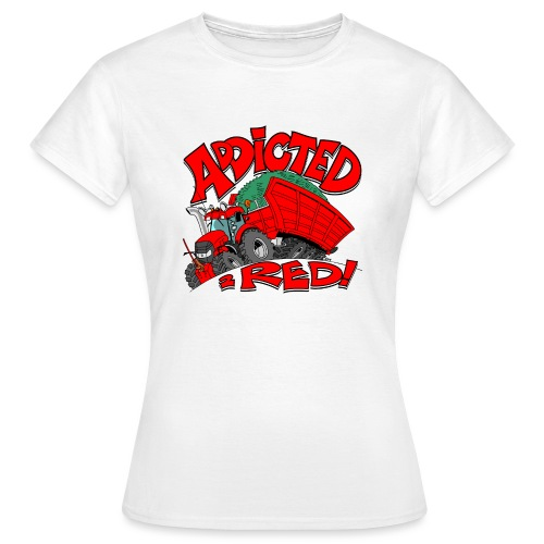 Addicted2RED - Vrouwen T-shirt