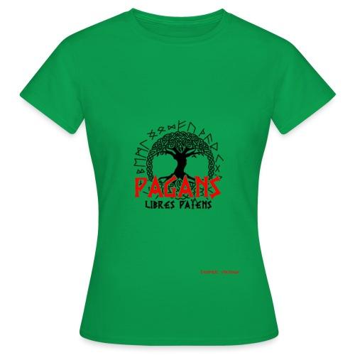 PAGANS lIBRESpAIENS - T-shirt Femme