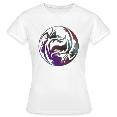 DRAGON Yin & Yang - Frauen T-Shirt