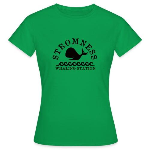 Sromness Whaling Station - Women's T-Shirt