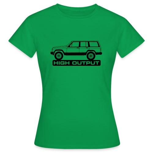 Jeep XJ High Output - Autonaut.com - Women's T-Shirt