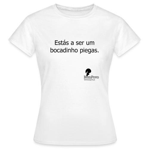 estasaserumbocadinhopiegas - Women's T-Shirt