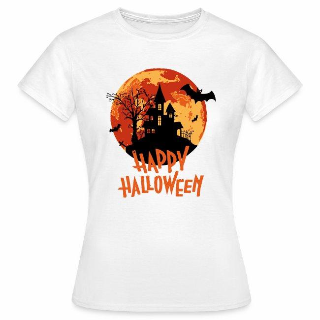 Bloodmoon Haunted House Halloween Design