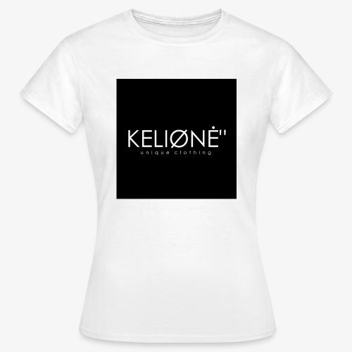 Black KELIØNĖ design - Women's T-Shirt