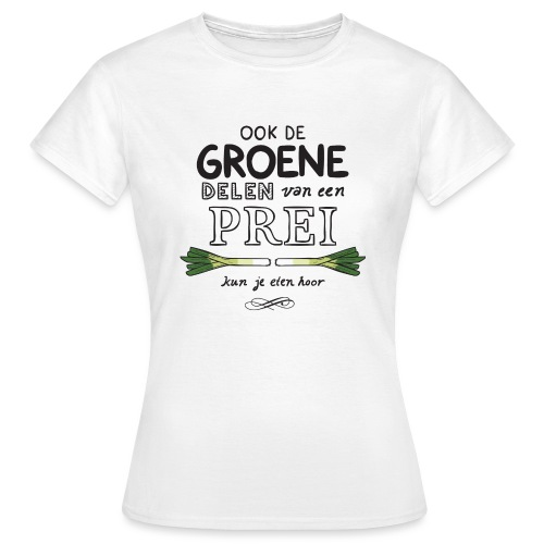 Prei - Vrouwen T-shirt