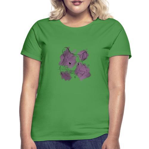 Violet splash chinchilla - Naisten t-paita