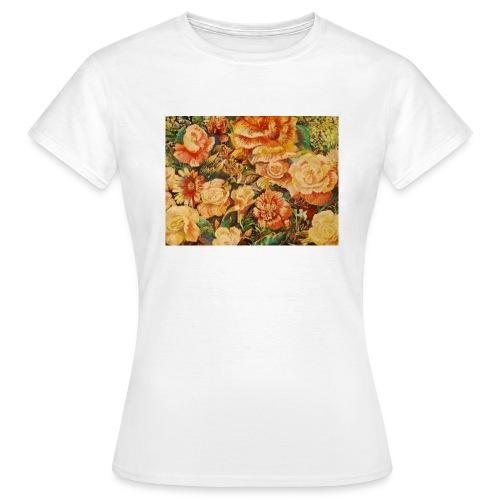Flowersdesign - Dame-T-shirt