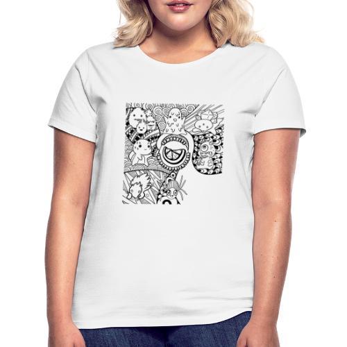monstergrafiken tshirt - Frauen T-Shirt