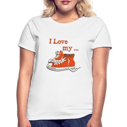 my shoes - Frauen T-Shirt