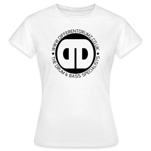 Different Drumz Logo 2020 Black V2 - Women's T-Shirt