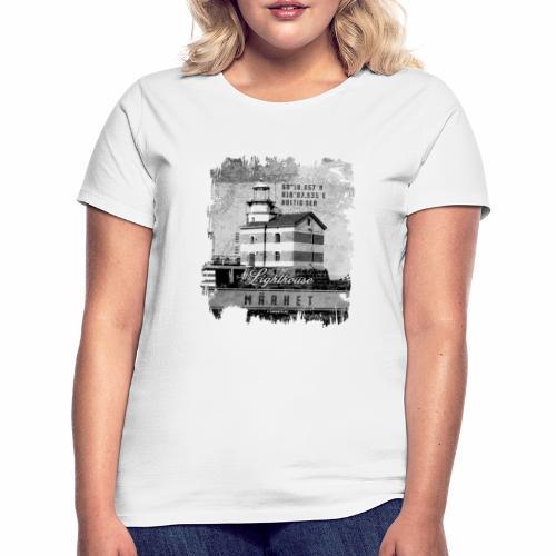 Märket majakkatuotteet, Finland Lighthouse, Harmaa - Naisten t-paita