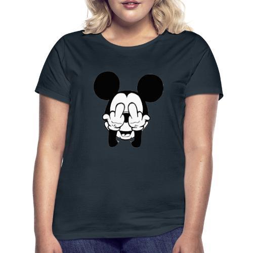 musse svart - T-shirt dam