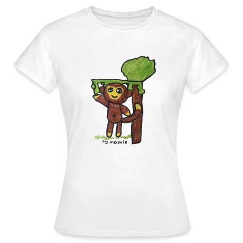 monkeywhite - Women's T-Shirt