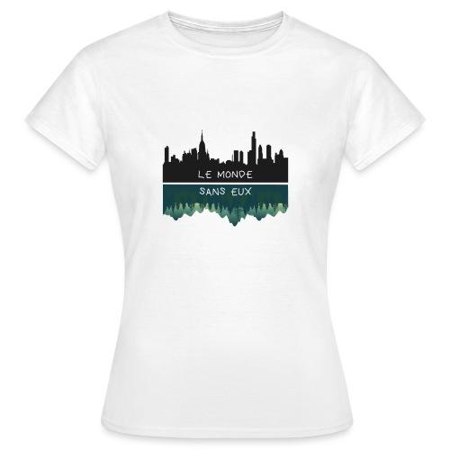 le monde - T-shirt Femme