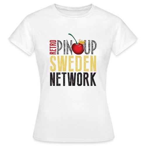 Tanktop Retro Pinup Sweden Crew utsvängd - T-shirt dam