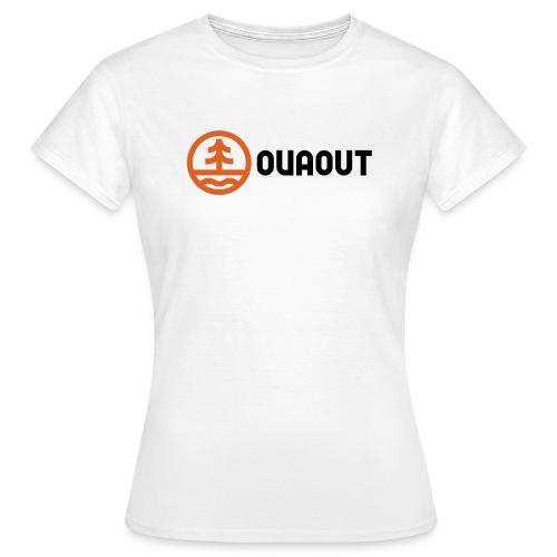 OVAOUT Logo - Frauen T-Shirt