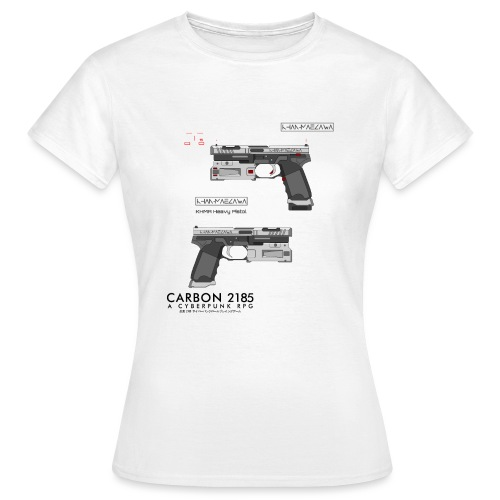 KHMA Heavy Pistol - Carbon 2185 - Women's T-Shirt