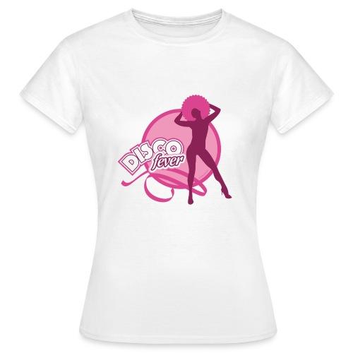 08 disco fever rose - T-shirt Femme