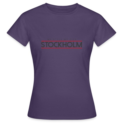 MY STYLE MY CITY STOCKHOLM - Women's T-Shirt