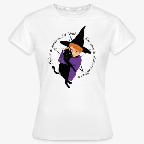 Enfant de sorcières - T-shirt Femme