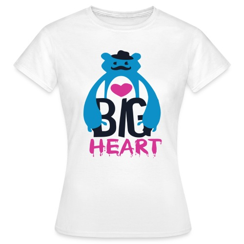 Big Heart Monster Hugs - Women's T-Shirt