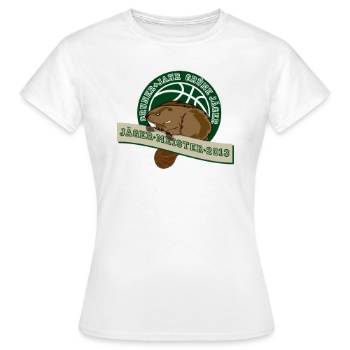 gj jaegermeister2013 - Frauen T-Shirt