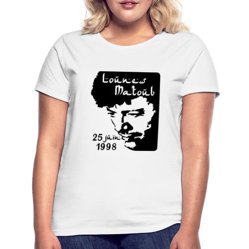 Motif hommage à Lounes Matoub - T-shirt Femme