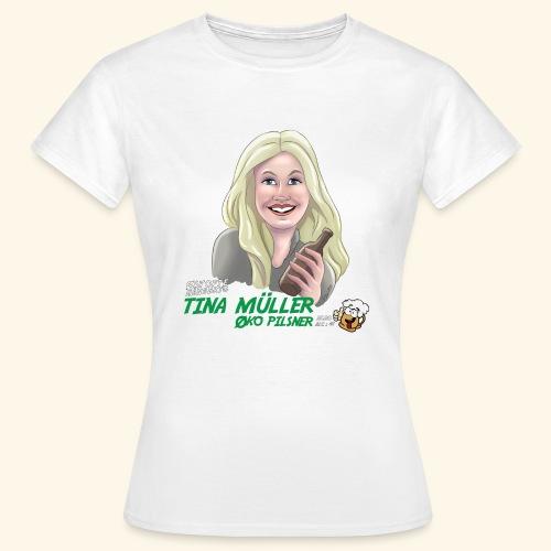 Tina øko pilsner - Dame-T-shirt