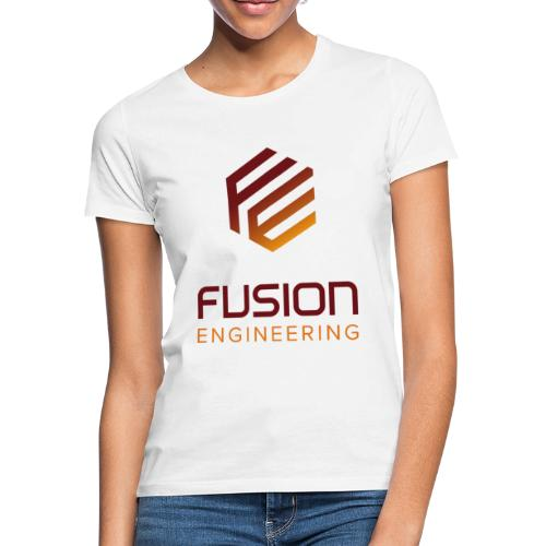 Fusion logo in color - Vrouwen T-shirt