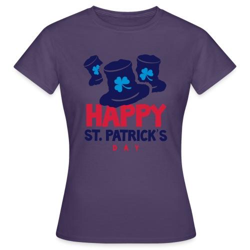 Happy St. Patrick's Bay - Women's T-Shirt