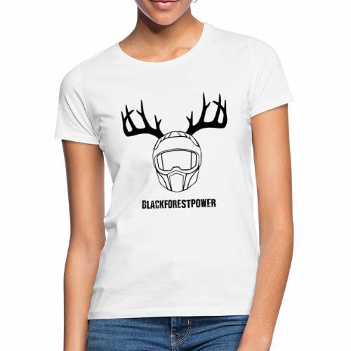 Blackforest Helm - schwarz - Frauen T-Shirt
