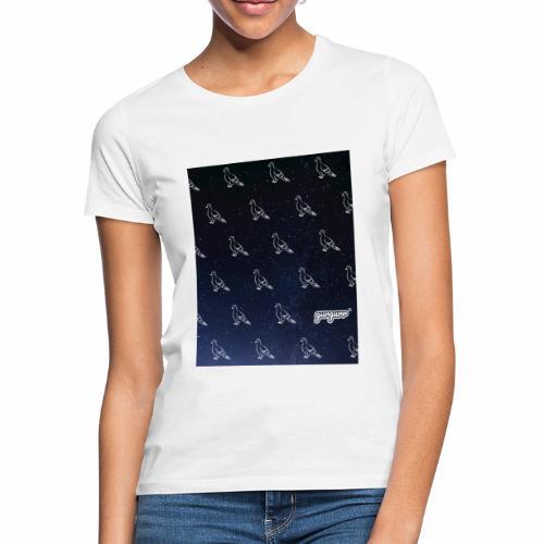 pigeonarmay in space - Frauen T-Shirt